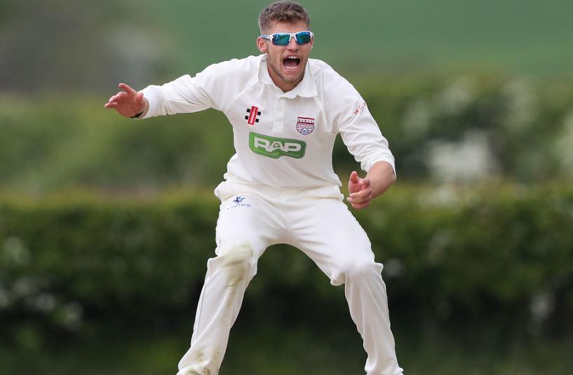Yorkshire CCC Karl Carver Wicket