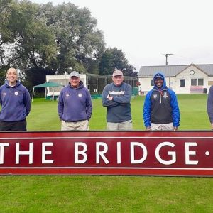Ground staff at The Bridge